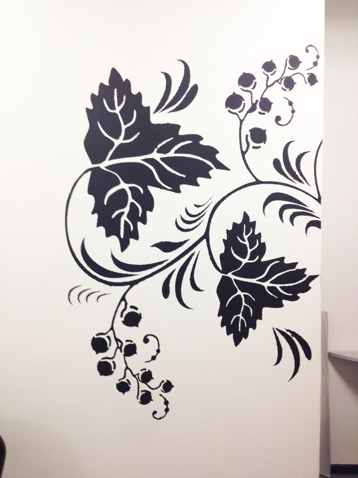 Трафареты для рисунки на стенах квартир своими руками 335